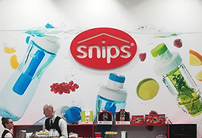 Snips stand at Ambiente Frankfurt 2019